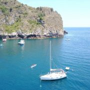 Estate 2020 uscita in barca a vela da Giardini Naxos a Taormina